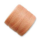 extra-heavy #18 pumpkin Superlon bead cord