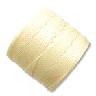 extra-heavy #18 pale yellow Superlon bead cord