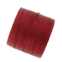 extra-heavy #18 red-hot Superlon bead cord