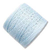 extra-heavy #18 sky blue Superlon bead cord