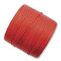 Image .5mm, extra-heavy #18 shanghai red Superlon bead cord