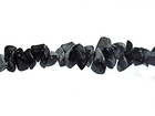 Snowflake Obsidian chips black & grey