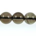 Smoky Quartz 8mm round smoky brown