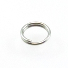 stainless steel 5mm splitring jumpring silver