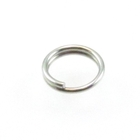 stainless steel 6mm splitring jumpring silver
