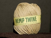 thick (170 lb. test) natural color Hemp Twine