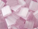Image Seed Beads Miyuki tila 5x5x1.9 mm pale rose silk satin