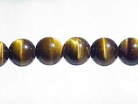 Tiger Eye 6mm round brown AA grade