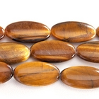 Tiger Eye 15 x 30mm  oval rich golden brown