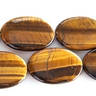 Tiger Eye 30 x 40mm oval rich golden brown