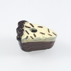 Image Clay Beads 12 x 8mm chocolate cream pie clay