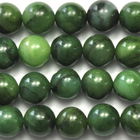 West African Jade 8mm round deep green
