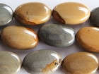 Wildhorse Picture Jasper 10 x 14mm oval earth tones
