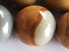 Wildhorse Picture Jasper 16mm round earth tones